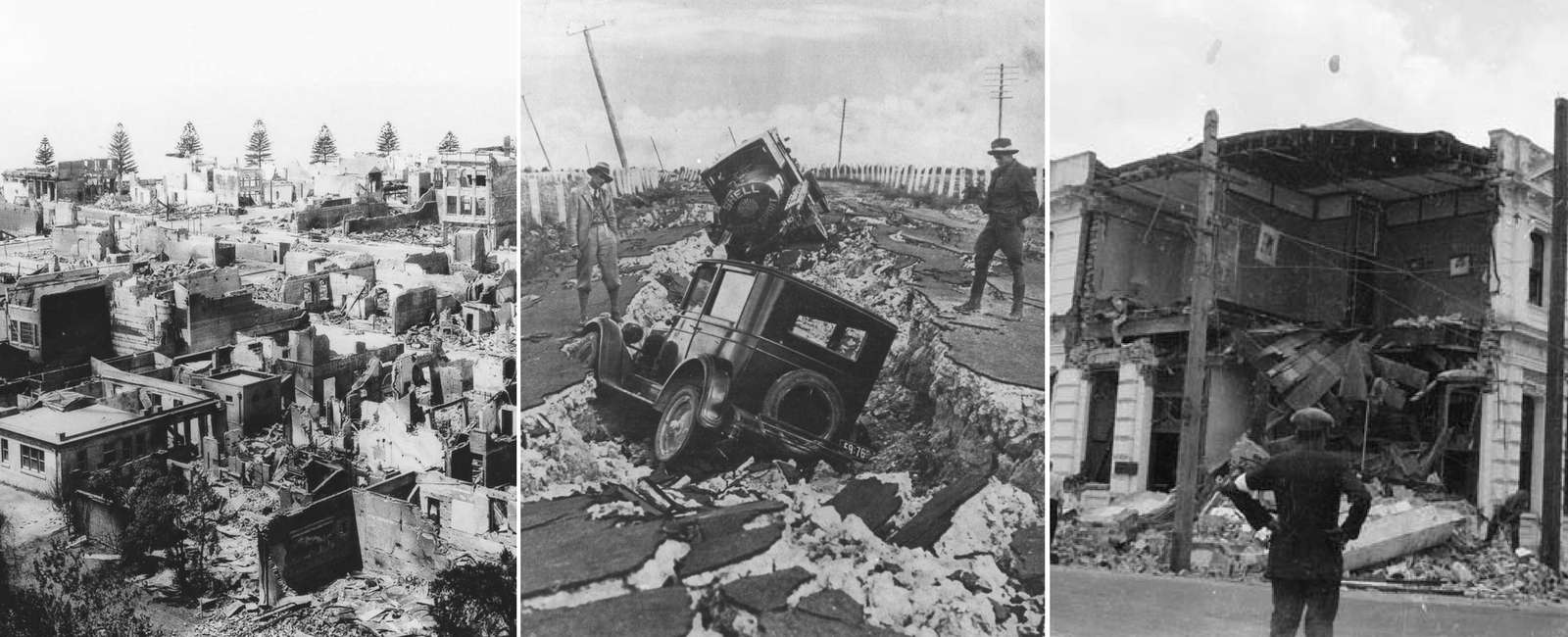 Image result for 1931 hawke's bay earthquake
