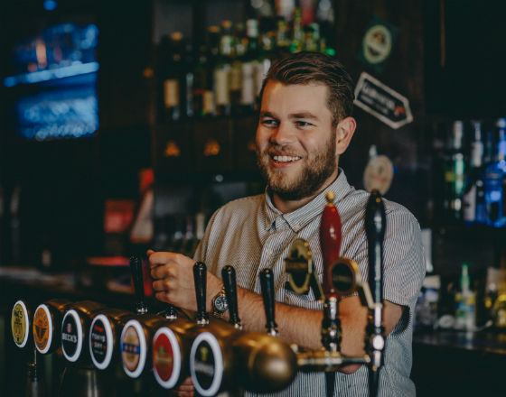 Tim Woods, Bar Manager