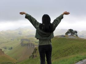 Te Mata Peak has that effect!