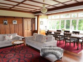 Panelled reception room