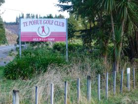 Welcome to Te Pohue Golf Club
