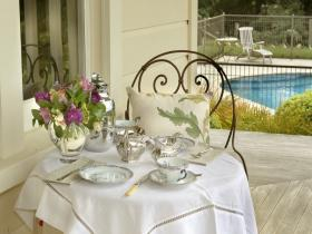 tea on the veranda
