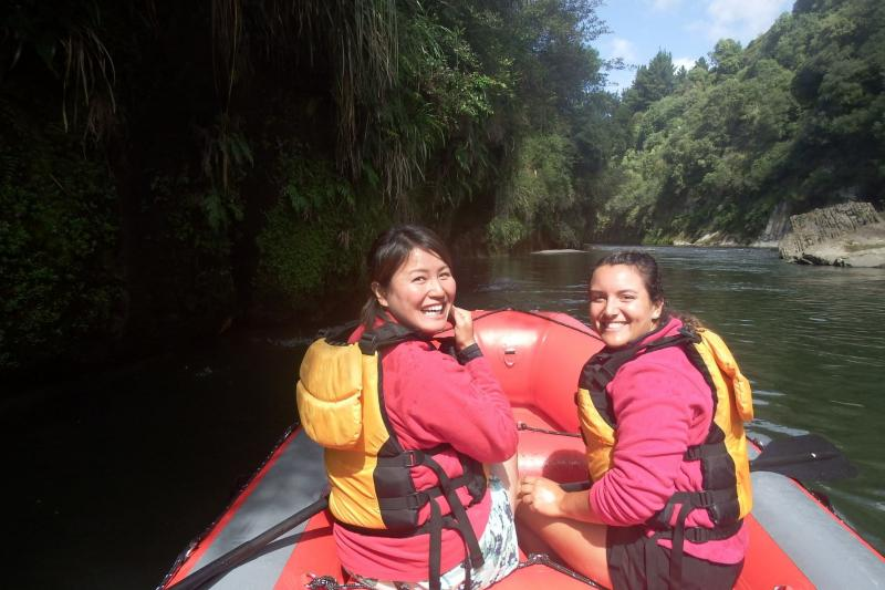 Rafting on the Mohaka