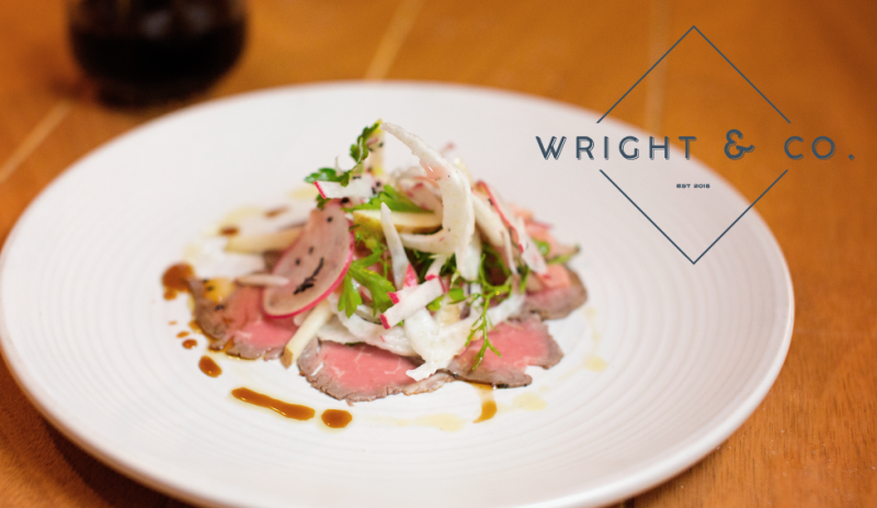 Dinner at Wright and Co