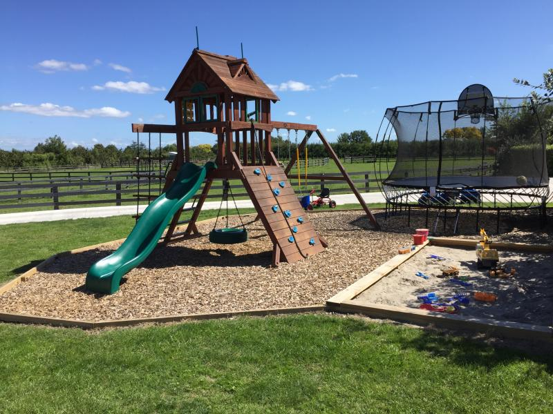 Adventure playground for the kids