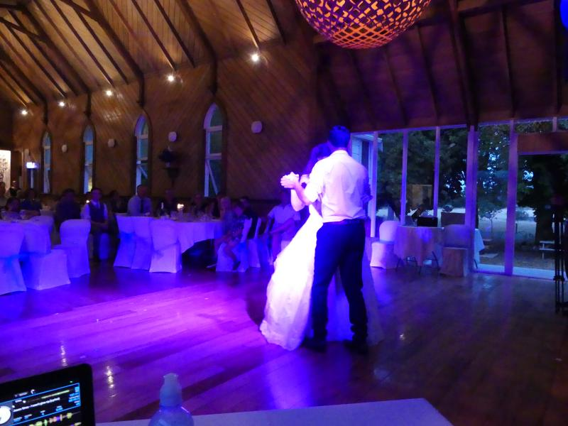 First dance at Oruawharo